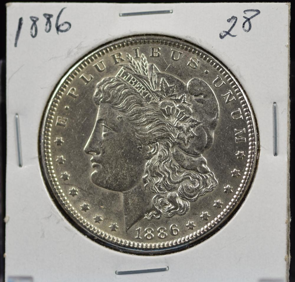 1886 Morgan Dollar MS64