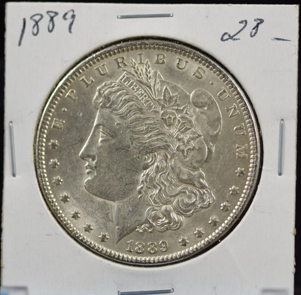 1889 Morgan Dollar MS64