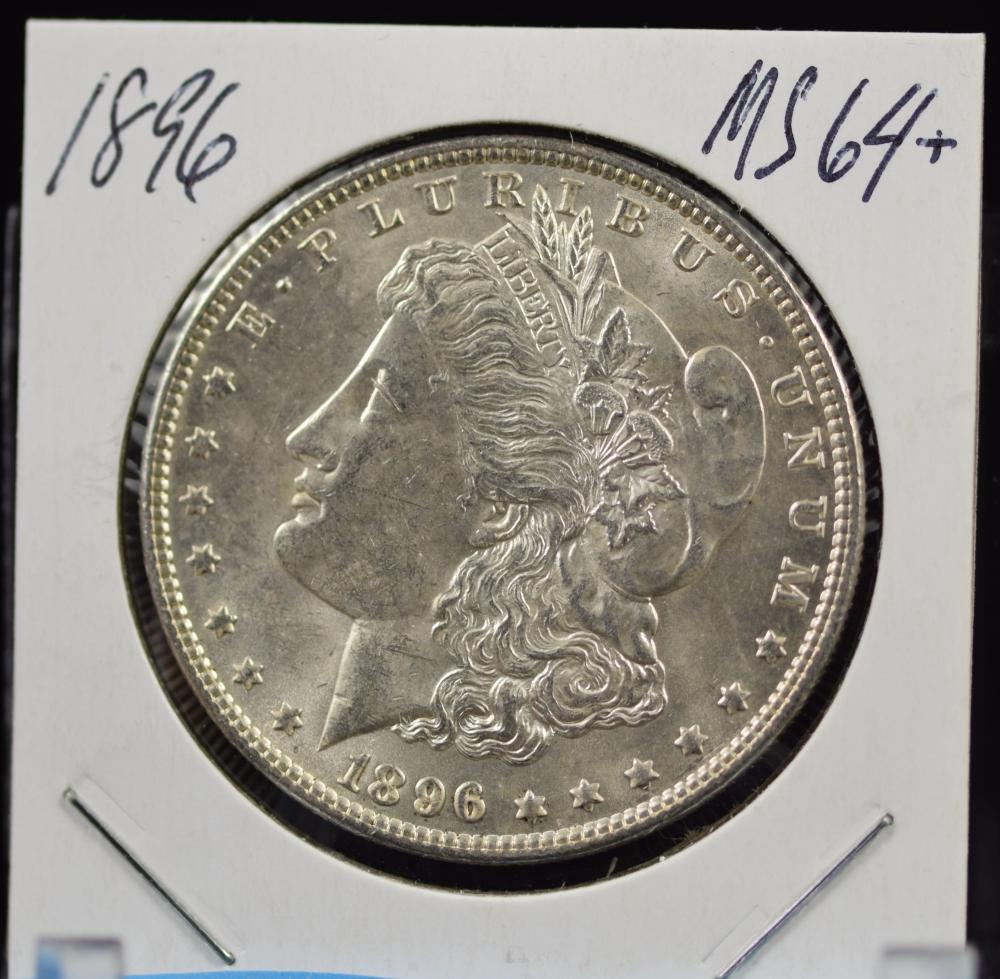 1896 Morgan Dollar MS64 Plus