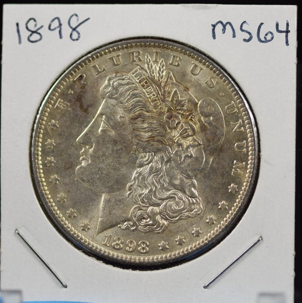 1898 Morgan Dollar MS64