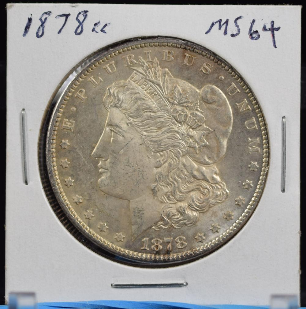 1878-CC Morgan Dollar MS64