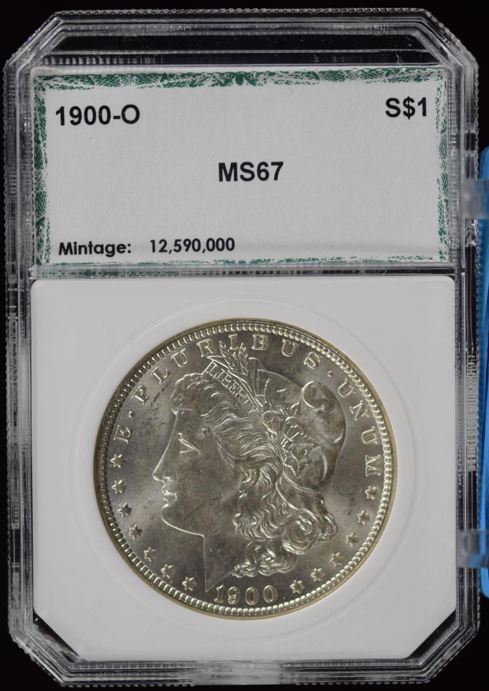 1900-O Morgan Dollar PCI MS67