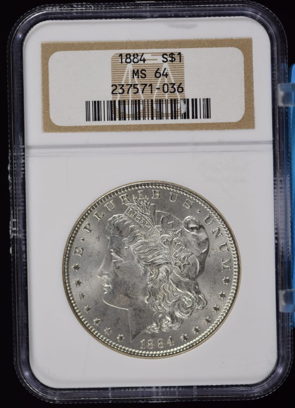 1884 Morgan Dollar NGC MS-64