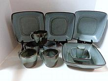 Ten Pieces Frankoma Mid-Century Pottery