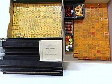 Two Bakelite Mahjong Sets