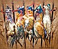 Sandra Lawrence b.1945- Pheasants; acrylic on, Sandra Lawrence, Click for value