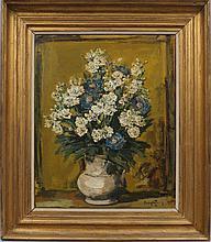 Julien Creytens, Belgian 1897-1972- Floral still