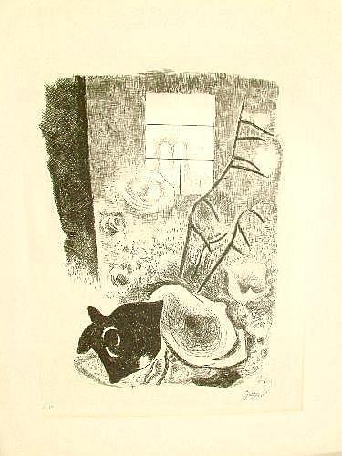 Willi Geiger, German 1878-1971- 'Blick auf die