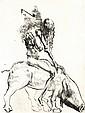 Salvador Dali, Spanish 1904-1989- Faust,
