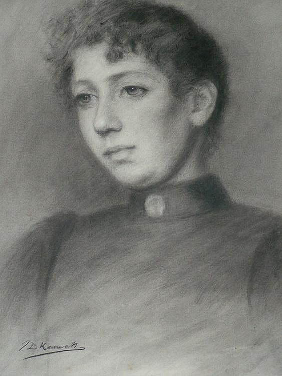 James Dalzell Kenworthy 1858-1954- Portrait of a