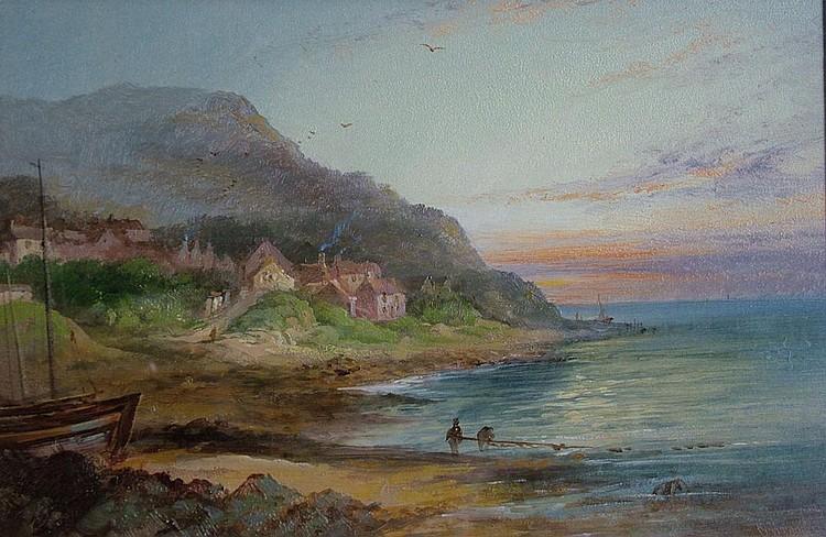 "Patrick Branwell Bront 1817-1848- ""Runswick Near"