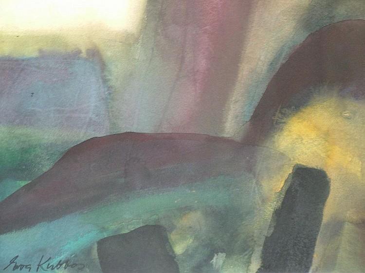 Eva Kubbos, Australian b.1928- Untitled abstract