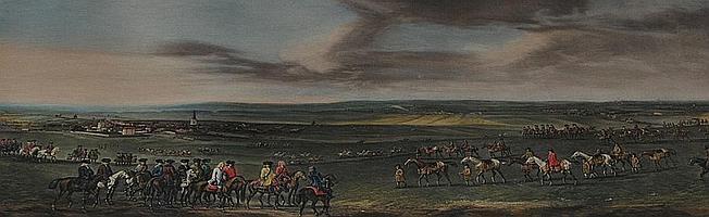 """After Peter Tillemans 1684-1734- """"King George 1st"""