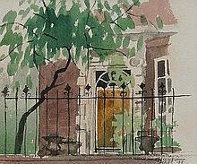 Barbara Dorf, British b.1933- Town house;