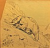 Louis Charles Bombled, French 1862-1927- Elephant, Louis Charles Bombled, Click for value