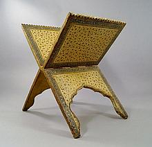 An Islamic Kooran stand, late 19th/early 20th