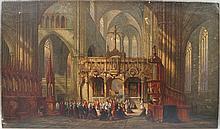 Henry John Livens, British 1848-1943- ''Cathedral