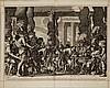 Nicolaes Visscher I, Dutch 1618-1679- ''The feast, Nicolas Visscher, Click for value