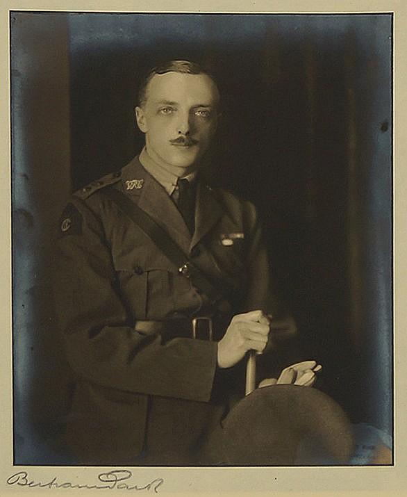 Bertram Park, British 1883-1972- Portrait of an