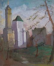 Hilda May Gordon, British 1874-1972- New York,