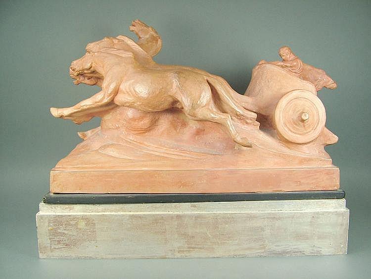 Domenico Mastroianni (Italy), a large terracotta