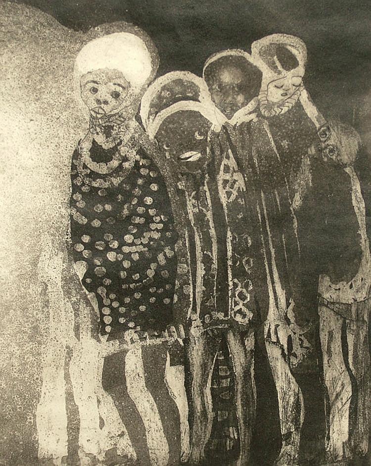 Cyprian Mpho Shilakoe, South African 1946-1972-