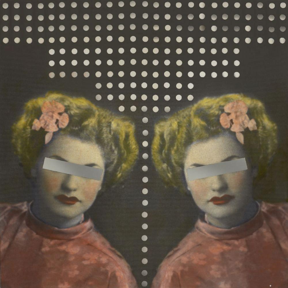 Samira Alikhanzadeh (Iranian, b. 1967), Untitled, 2008, acrylic and mirror