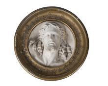 An Italian Carrara marble carving of Christ