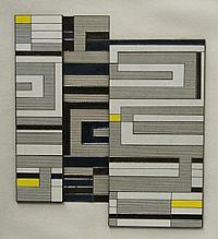 """Vikki Slowe, British b.1947- """"Solar Panel,"""