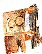 Ramon Lapayese 1928-1994- Abstract female nude;, Ramón Lapayese