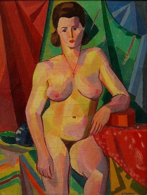 Raymond Trameau, French 1897-c.1985-