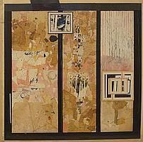 Peter Weaver RI, British b.1927- Untitled, three