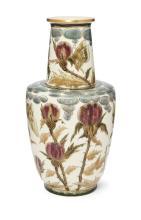 Julia Zsolnay (1856-1950), a large Zsolnay ceramic vasec.1883, printed unde