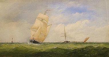 """Charles Taylor Jnr, British fl.1841-1883- """"The"""
