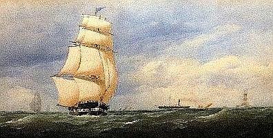 "Charles Taylor Jnr, British fl.1841-1883- ""Passing"