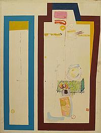 Peter Weaver RI, British b.1927- Pop art