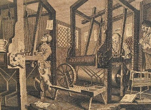 Thomas Cook, British 1744-1818- 'Industry and