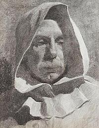 Harold Knight PNSA RA ROI RP, British 1874-1961-