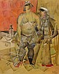 Konstantin Ivanovich Rudakov, Russian 1891-1949-, Konstantin Ivanovič Rudakov, Click for value