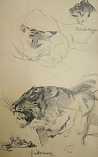 Siegmund von Suchodolski, German 1875-1935- A