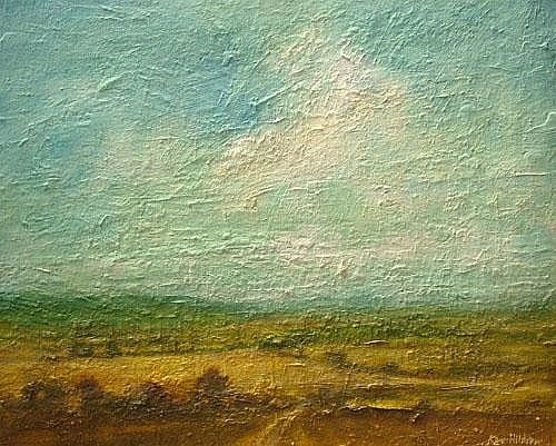 Ken Hildrew, British b.1934- Sussex Landscape,