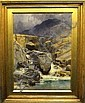 George Cockram RI, British 1861-1950- 'Ogwen, George Cockram, Click for value