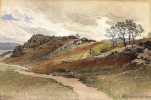 Victor Paul Mohn, German 1842-1911- Rural