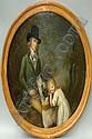 Follower of Peter Tillemans c1684-1734- Portrait
