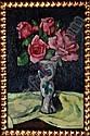 Heinrich Eberhard, German 1884-1973- Floral still, Heinrich (1884) Eberhard, Click for value