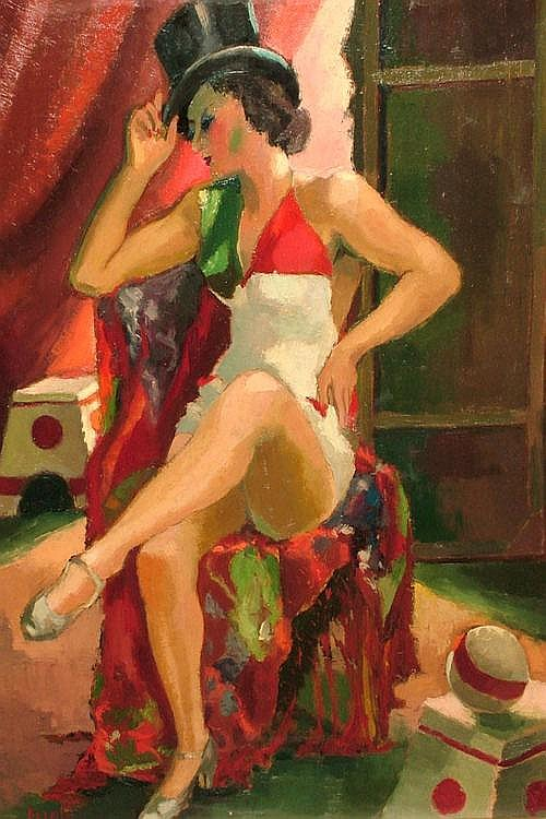 Pierre Louis Clement Berjolè, French 1897-1990-