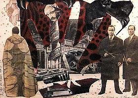 """Wolf Mankowitz, British 1924-1998- """"The Bishop &"""