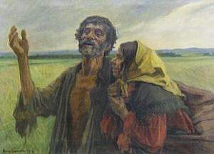Johann (Hans) Larwin, Austrian 1873-1938-