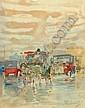 Giuseppe Solenghi, Italian 1879-1944- Motor cars, Giuseppe Solenghi, Click for value