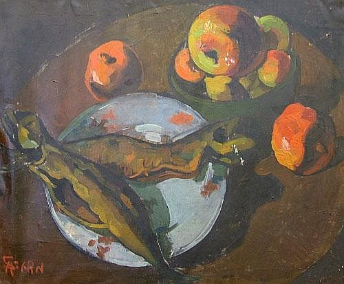 Attributed to Armin Stern, German 1883-1951- Still